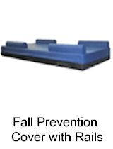Fall Prevention Cover with Rails