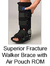 Superior Fracture Walker Brace with Air Pouch