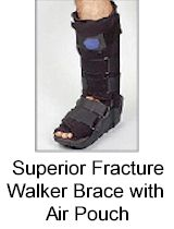 Superior Fracture Walker Brace