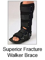 Superior Fracture Walker Brace with Air Pouch ROM