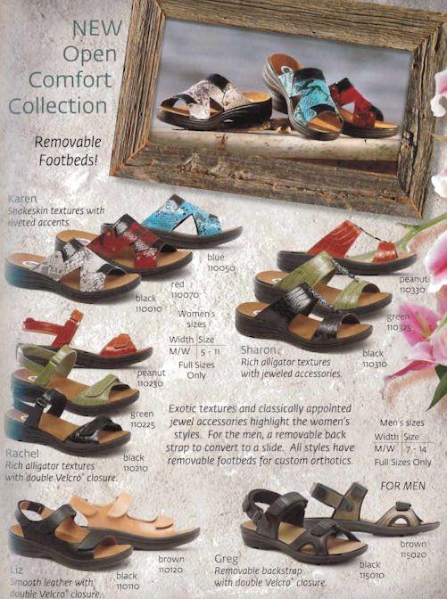 Dr. Comfort Women's Sandals - 1
