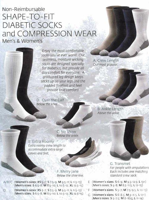 Dr. Comfort Socks - 1
