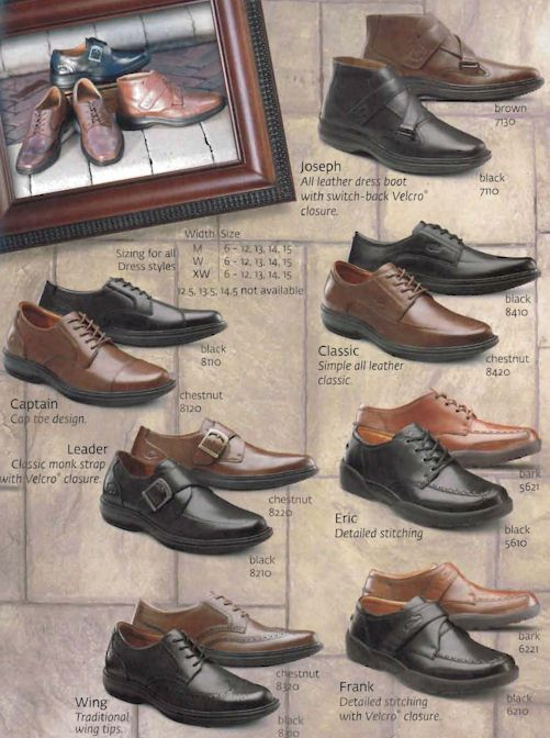 Dr. Comfort Men's Shoes 3