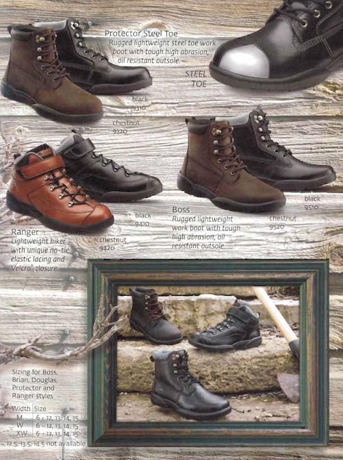 Dr. Comfort Men's Shoes 6